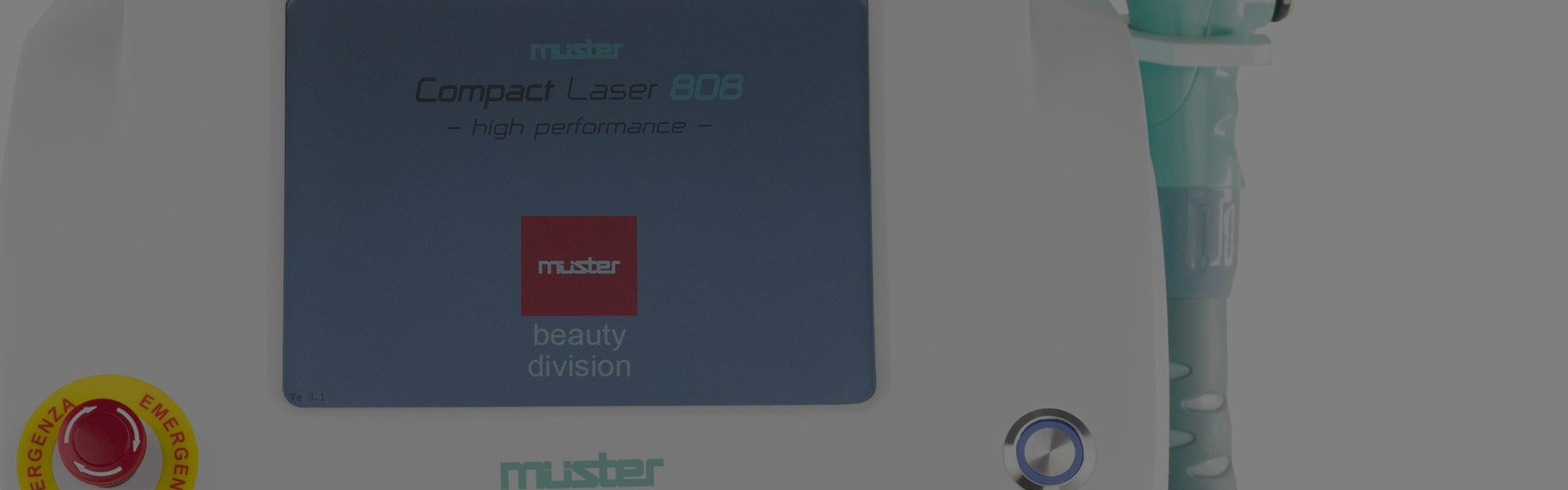 Compact Laser 808 - Professional laser equipment for permanent
