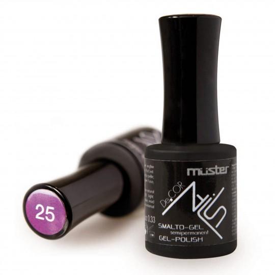 Semi-permanent UV gel enamel for natural nails