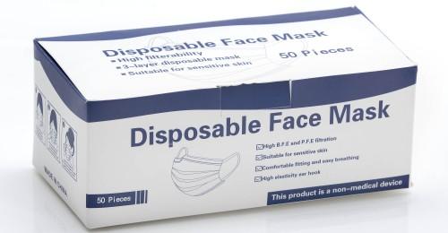 confezione mascherine monouso 21223
